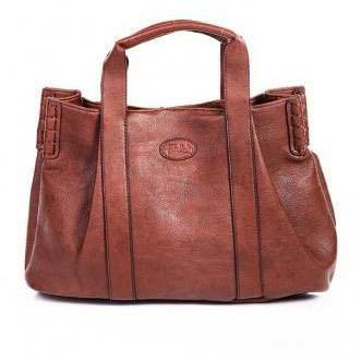 Brown Leather Tote, Hobo Handbag, Shopper, Tote, Brown Leather Handbag, Brown Purse, Leather Purse
