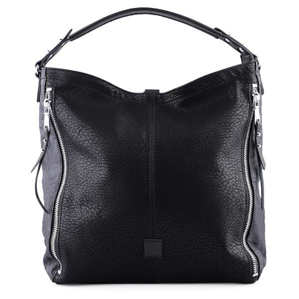 Black Leather Tote. Black Handbag. Black Purse. Leather Tote in Black. Leather Messenger Handbag. Laptop Bag. Fall-Winter 2015/2016 Handbags.